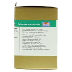 NIACIN 40 mg pro Kapsel 60 Stück - Rechte Seite