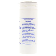 CALCIUMASCORBAT FEINGOLD Pulver 100 Gramm - Rechte Seite