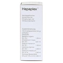 HEPAPLEX Tropfen 50 Milliliter N1 - Rechte Seite