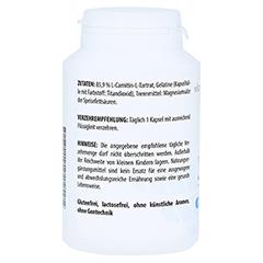 L-CARNITIN 500 mg Kapseln 100 Stück - Rechte Seite