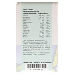 COLOVIT Tabletten 60 Stück - Rückseite