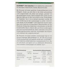 Alsidiabet Zimt Catechine f.Diab.Typ II Kapseln 30 Stück - Rückseite
