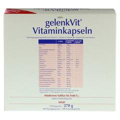 GELENKVIT Vitaminkapseln 270 Stück - Rückseite