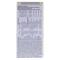BASIS AKTIV 28 Tabletten 60 Stück - Rückseite
