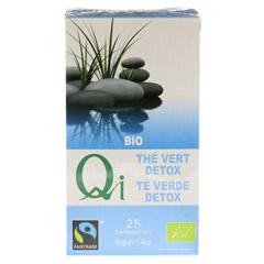 DETOX kleiner Kur Tee Filterbeutel 25x1.6 Gramm - Rückseite
