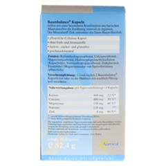 BASENBALANCE Kapseln-Mineralstoffe 90 Stück - Rückseite