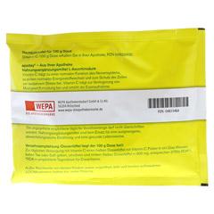 VITAMIN C Beutel Pulver 100 Gramm - Rückseite