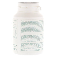 VITAMIN C ESTER 400 mg gepuffert vegetarische Kps. 120 Stück - Rückseite