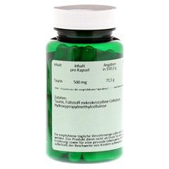TAURIN 500 mg Kapseln 60 Stück - Rückseite