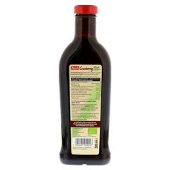 DONATH Vollfrucht Cranberry ungesüßt Bio 500 Milliliter - Rückseite
