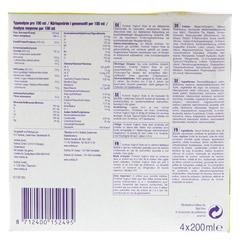 FORTIMEL Yoghurt Style Vanille Zitronegeschmack 4x200 Milliliter - Unterseite