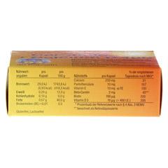 CAROTININ+Calcium D 400 Kapseln 30 Stück - Unterseite