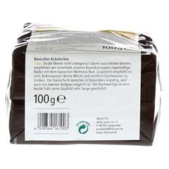IHLEVITAL basischer Kräutertee Bio 100 Gramm - Unterseite