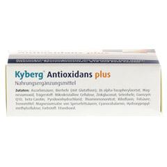 ANTIOXIDANS plus Kyberg Kapseln 30 Stück - Unterseite