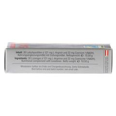 SX10 22 mg N.A.D.H.+ L-ARGININ Lutschtabletten 30 Stück - Unterseite