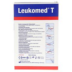LEUKOMED transp.sterile Pflaster 5x7,2 cm 5 Stück - Rückseite