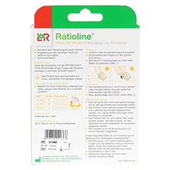 RATIOLINE Hallux valgus Bandage zur Korrektur Gr.S 1 Stück - Rückseite