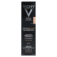 VICHY DERMABLEND 3D Make-up 45 30 Milliliter - Rückseite