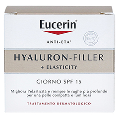 EUCERIN Anti-Age Elasticity+Filler Tagescreme 50 Milliliter - Rückseite