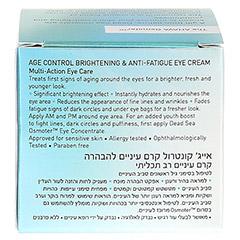 AGE CONTROL Brightening Eye Cream + gratis Ahava Eye Wrinkle Eraser 15 Milliliter - Rückseite