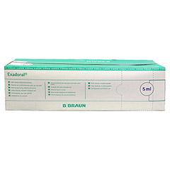 EXADORAL B.Braun orale Spritze 5 ml 100 Stück - Rückseite