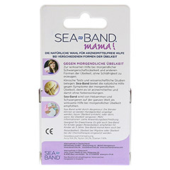 SEA-BAND mama Akupressurband für Schwangere 2 Stück - Rückseite