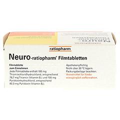 NEURO RATIOPHARM Filmtabletten 100 Stück N3 - Oberseite