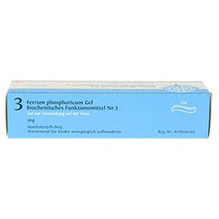 BIOCHEMIE DHU 3 Ferrum phosphoricum D 4 Gel 50 Gramm N1 - Oberseite