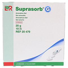 SUPRASORB G Amorphes Gel Spritze 20 g 10x20 Gramm - Oberseite