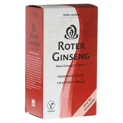 ROTER GINSENG 400 mg 8% von Terra Mundo Kapseln 120 Stück