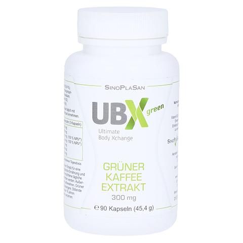 GRÜNER KAFFEE Extrakt 300 mg UBX green Kapseln 90 Stück