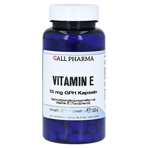 VITAMIN E 15 mg GPH Kapseln 120 Stück