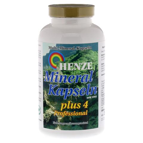HENZE Mineral Kapseln Plus 4 Profession. Kapseln 330 Stück