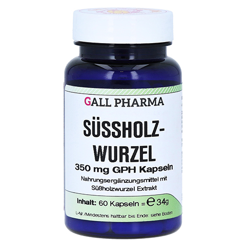 SÜSSHOLZWURZEL 350 mg GPH Kapseln 60 Stück