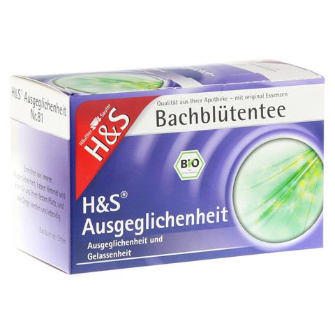 H&S Bachblüten Ausgeglichenheits-Tee Filterbeutel 20 Stück