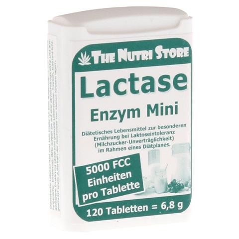 LACTASE 5.000 FCC Enzym Mini Tabl.im Dosierspender 120 Stück