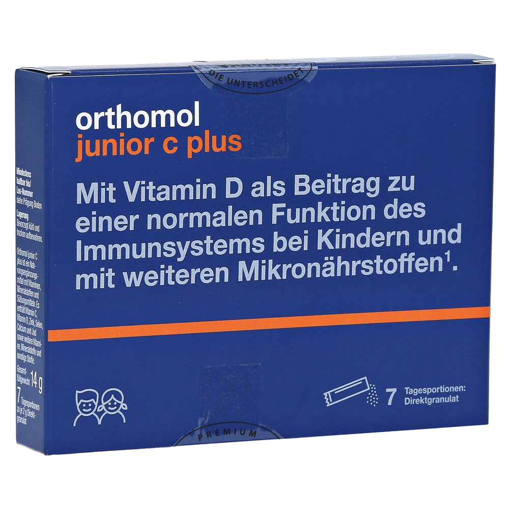 Orthomol Junior C Plus Erfahrungen
