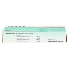CEFAMIG Tabletten 60 Stück N1 - Unterseite