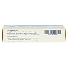 BIOCHEMIE DHU 4 Kalium chloratum D 4 Gel 50 Gramm N1 - Unterseite