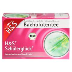 H&S Bachblüten Schülerglück-Tee Filterbeutel 20 Stück - Vorderseite