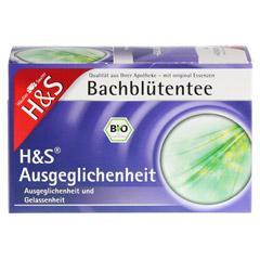 H&S Bachblüten Ausgeglichenheits-Tee Filterbeutel 20 Stück - Vorderseite