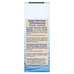 KNEIPP Bade-Essenz Tiefenentspannung 100 Milliliter - Rückseite