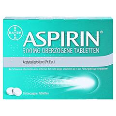 Aspirin 500mg 8 Stück N1 - Rückseite