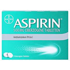 Aspirin 500mg 8 Stück N1 - Vorderseite