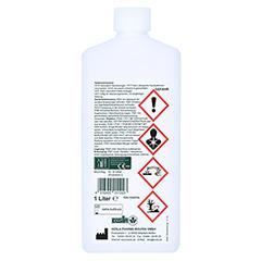 WOFASEPT Instrumenten- und Flächendesinfektion 1 Liter - Rückseite