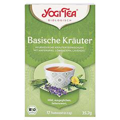 YOGI TEA Basische Kräuter Filterbeutel 17x2.1 Gramm - Vorderseite