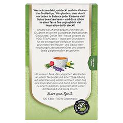 YOGI TEA Basische Kräuter Filterbeutel 17x2.1 Gramm - Rückseite