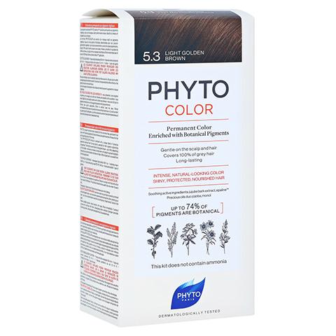 PHYTOCOLOR 5.3 HELLES GOLDBRAUN Pflanzliche Coloration 1 Stück