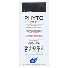 PHYTOCOLOR 4 braun ohne Ammoniak 1 Stück - Rückseite