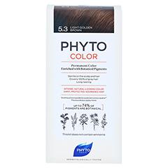 PHYTOCOLOR 5.3 HELLES GOLDBRAUN Pflanzliche Coloration 1 Stück - Vorderseite